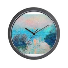 Monet: Impression Sunset Wall Clock