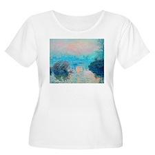 Monet: Impression Sunset Plus Size T-Shirt