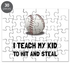 Hit And Steal Baseball Puzzle