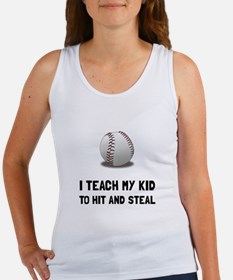 Hit And Steal Baseball Tank Top