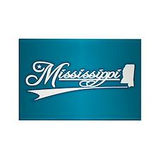 Mississippi State of Mine Magnets