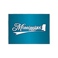 Mississippi State of Mine 5'x7'Area Rug