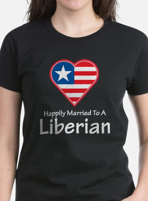 Happily Married Liberian Tee