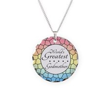 Godmother (Stained Glass) Necklace