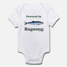 Powered by Bagoong Infant Bodysuit