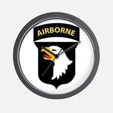 101st Airborne Division Wall Clock