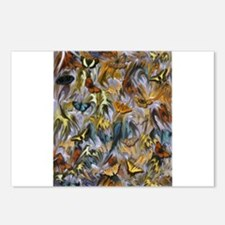 BUTTERFLY ILLUSION PANEL Postcards (Package of 8)