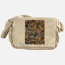 BUTTERFLY ILLUSION PANEL Messenger Bag