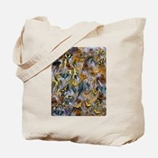 BUTTERFLY ILLUSION PANEL Tote Bag