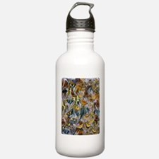 BUTTERFLY ILLUSION PANEL Water Bottle