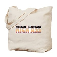 Track and Field Athletes Kick Ass Tote Bag