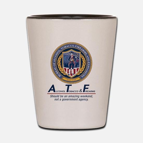ATF Shot Glass