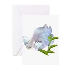 Dumbo Betta Snowy Greeting Cards