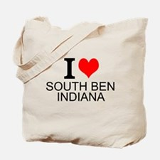 I Love South Bend Indiana Tote Bag