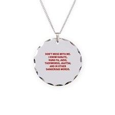 Dangerous Words Necklace