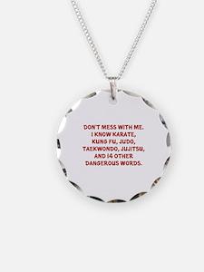 Dangerous Words Necklace