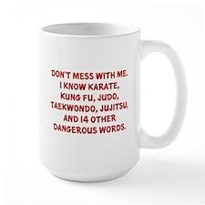 Dangerous Words Mug