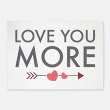 Love You More 5'x7'Area Rug