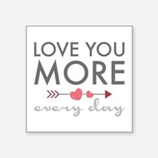 Love You Everyday Sticker