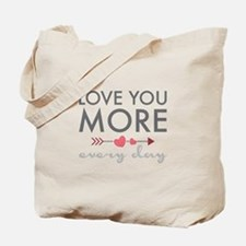 Love You Everyday Tote Bag
