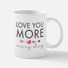 Love You Everyday Mugs