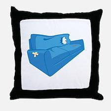 Old Sofa Throw Pillow