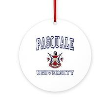 PASQUALE University Ornament (Round)