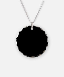Solid Black Color Necklace