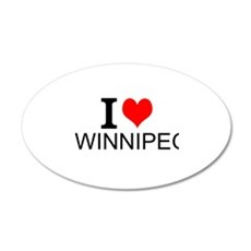 I Love Winnipeg Wall Decal