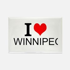 I Love Winnipeg Magnets