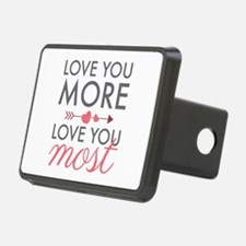 Love You Most Hitch Cover