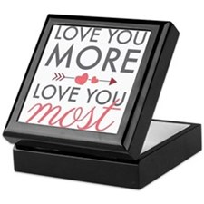 Love You Most Keepsake Box