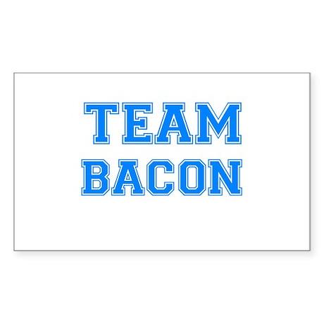 TEAM BACON Rectangle Sticker