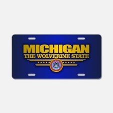 Michigan (v15) Aluminum License Plate
