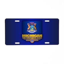 Michigan (v15) Aluminum License Plate