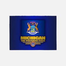 Michigan (v15) 5'x7'Area Rug