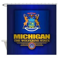 Michigan (v15) Shower Curtain