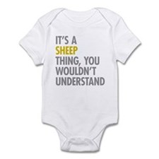 Its A Sheep Thing Infant Bodysuit