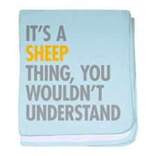 Its A Sheep Thing baby blanket