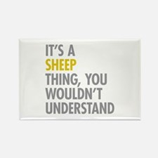 Its A Sheep Thing Rectangle Magnet