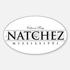 Natchez ~ Cotton is King Decal
