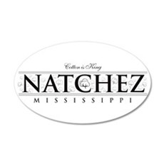 Natchez ~ Cotton is King Wall Decal