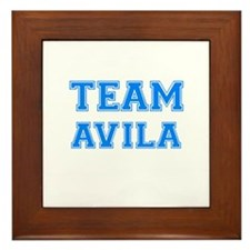 TEAM AVILA Framed Tile