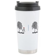 Cute Maple tree Travel Mug