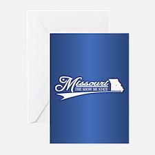 Missouri State of Mine Greeting Cards