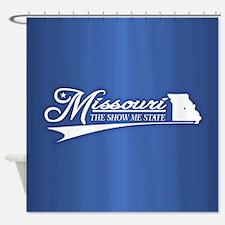 Missouri State of Mine Shower Curtain