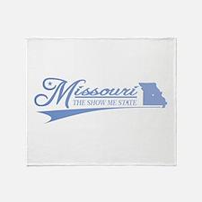 Missouri State of Mine Throw Blanket