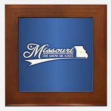 Missouri State of Mine Framed Tile