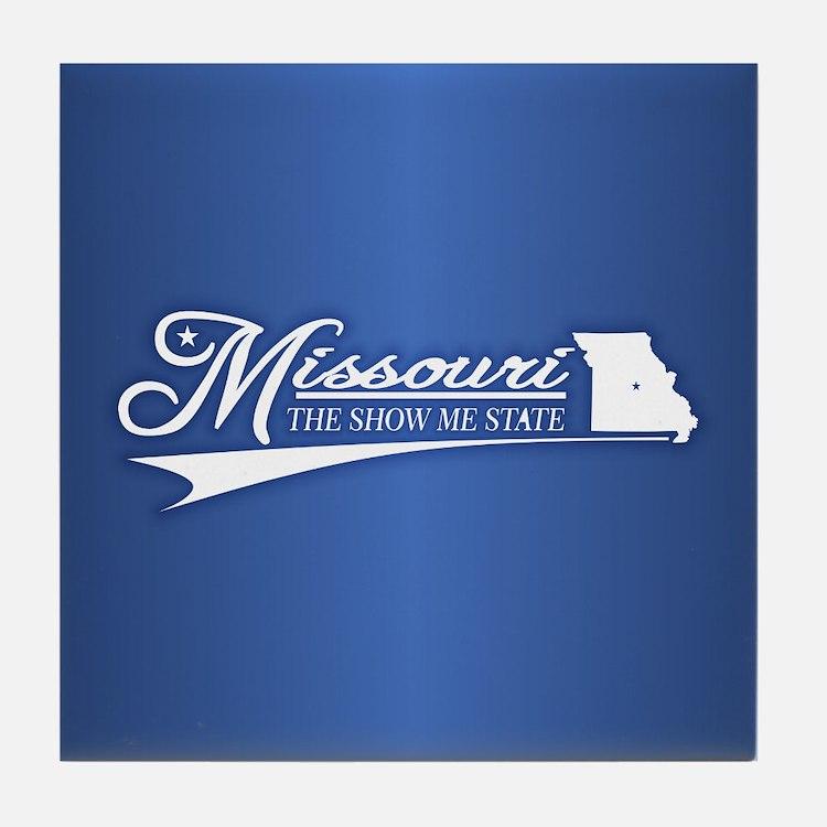 Missouri State of Mine Tile Coaster