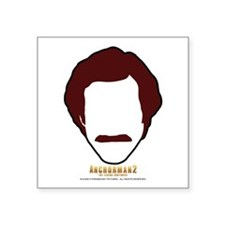 Ron Burgundy Face Sticker